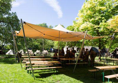 7x7m zand - Bevrijdingsfestival Wageningen